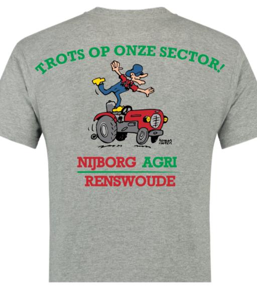 T-shirt Nijborg Agri