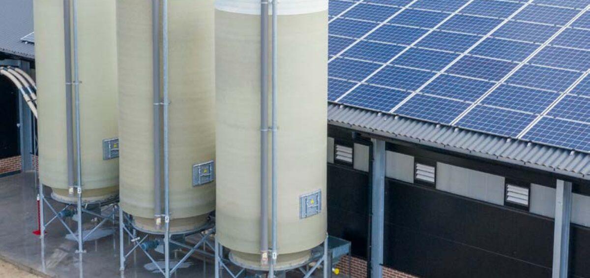 Compliment silo's van Nijborg Agri